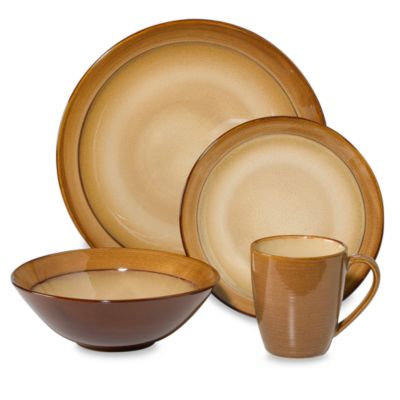 Sango Roma Caramel 16-Piece Dinnerware Set  sc 1 st  Bed Bath u0026 Beyond & Buy Sango Dinnerware from Bed Bath u0026 Beyond