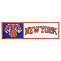 NBA New York Knicks Outdoor Step Graphic Decal