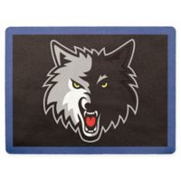 NBA Minnesota Timberwolves Outdoor Curb Address Logo Decal
