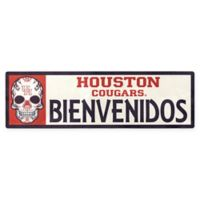 University of Houston Cougars Bienvenidos Outdoor Step Graphic Decal
