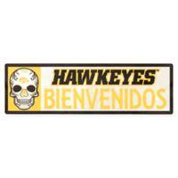 Iowa Hawkeyes Bienvenidos Outdoor Step Graphic Decal