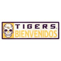 Louisiana State University Tigers Bienvenidos Outdoor Step Graphic Decal