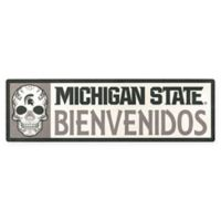 Michigan State University Bienvenidos Outdoor Step Graphic Decal