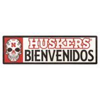 University of Nebraska Cornhuskers Bienvenidos Outdoor Step Graphic Decal
