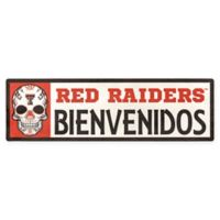 Texas Tech University Red Raiders Bienvenidos Outdoor Step Graphic Decal