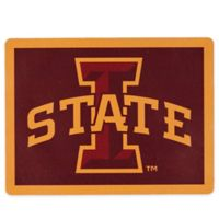 Iowa State University Outdoor Curb Address Logo Decal