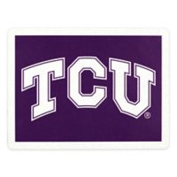 Texas Christian University Outdoor Curb Address Logo Decal