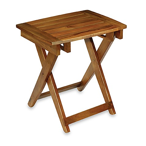 Conair 174 Teak Folding Shower Seat Bed Bath Amp Beyond