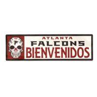 NFL Atlanta Falcons Bienvenidos Outdoor Step Graphic Decal