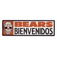 NFL Chicago Bears Bienvenidos Outdoor Step Graphic Decal