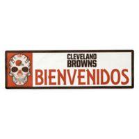 NFL Cleveland Browns Bienvenidos Outdoor Step Graphic Decal