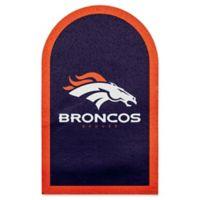 NFL Denver Broncos Mailbox Door Logo Outdoor Decal