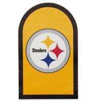 NFL Pittsburgh Steelers Mailbox Door Logo Outdoor Decal