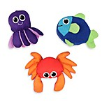 Sassy® Soft Swimmers Bath Toys