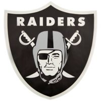 NFL Oakland Raiders Outdoor Large Primary Logo Graphic Decal