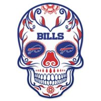 NFL Buffalo Bills Outdoor Dia De Los Muertos Skull Decal