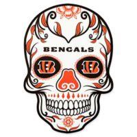 NFL Cincinnati Bengals Outdoor Dia De Los Muertos Skull Decal