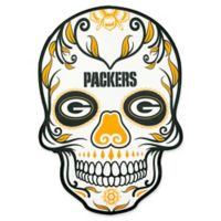 NFL Green Bay Packers Outdoor Dia De Los Muertos Skull Decal