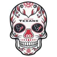 NFL Houston Texans Outdoor Dia De Los Muertos Skull Decal