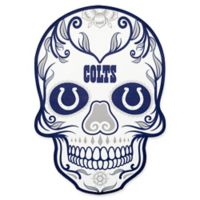 NFL Indianapolis Colts Outdoor Dia De Los Muertos Skull Decal