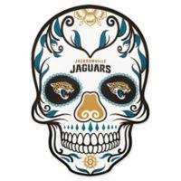 NFL Jacksonville Jaguars Outdoor Dia De Los Muertos Skull Decal