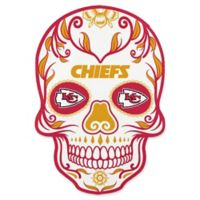 NFL Kansas City Chiefs Outdoor Dia De Los Muertos Skull Decal