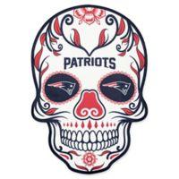 NFL New England Patriots Outdoor Dia De Los Muertos Skull Decal