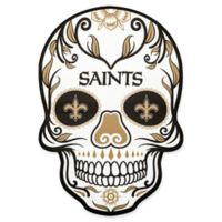 NFL New Orleans Saints Outdoor Dia De Los Muertos Skull Decal