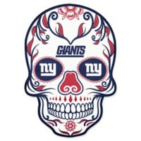 NFL New York Giants Outdoor Dia De Los Muertos Skull Decal