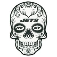 NFL New York Jets Outdoor Dia De Los Muertos Skull Decal