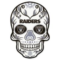 NFL Oakland Raiders Outdoor Dia De Los Muertos Skull Decal