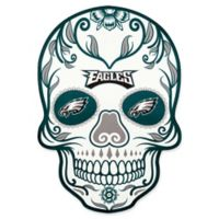 NFL Philadelphia Eagles Outdoor Dia De Los Muertos Skull Decal