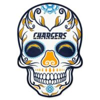 NFL Los Angeles Chargers Outdoor Dia De Los Muertos Skull Decal