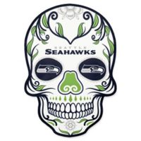 NFL Seattle Seahawks Outdoor Dia De Los Muertos Skull Decal
