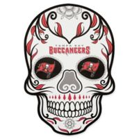 NFL Tampa Bay Buccaneers Outdoor Dia De Los Muertos Skull Decal