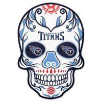 NFL Tennessee Titans Outdoor Dia De Los Muertos Skull Decal