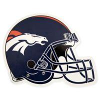 NFL Denver Broncos Outdoor Helmet Graphic Decal