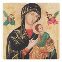 Thirstystone® Dolomite Holy Mother Single Square Coaster
