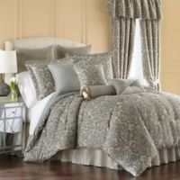 Rose Tree Dresden King Comforter Set in Spa