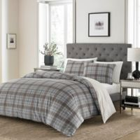 Stone Cottage Granton Reversible Full/Queen Duvet Cover Set in Grey