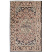 "Mohawk Heirloom Thame 7'6"" x 10' Area Rug in Indigo"
