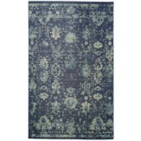Mohawk Home Heirloom Manang 7' 6 x 10'Area Rug in Indigo