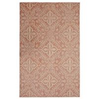 Mohawk Heirloom Waling 5' x 8' Area Rug in Coral