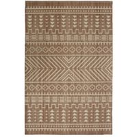 """Mohawk Heirloom Mica 7'6"""" x 10' Area Rug in Taupe"""