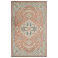 Mohawk Home Heirloom Patna 7' 6 x 10' Area Rug in Aqua