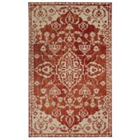 Mohawk Heirloom Pokara 5' x 8' Area Rug in Garnet