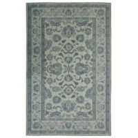 "Mohawk Heirloom Seti 7'6"" x 10' Area Rug in Aqua"