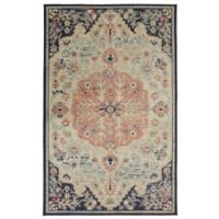 "Mohawk Heirloom Tamur 7'6"" x 10' Area Rug in Aqua"