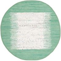 Safavieh Montauk 4' x 4' Beatrix Rug in Sea Green
