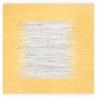 Safavieh Montauk 4' x 4' Beatrix Rug in Yellow
